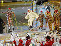 Actors perform during the Closing Ceremony of the 2006 Winter Olympics