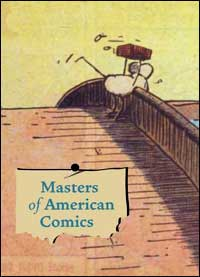 Book cover of 'Masters of American Comics'