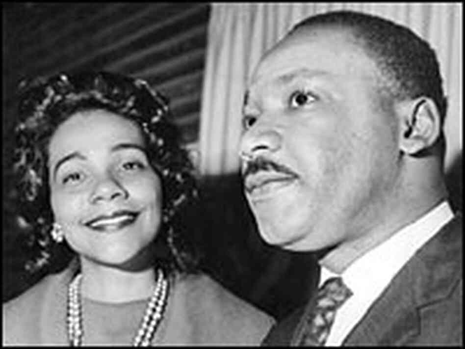 Coretta Scott King accompanies her husband the Rev. Martin Luther King Jr., to Oslo, Norway, where h