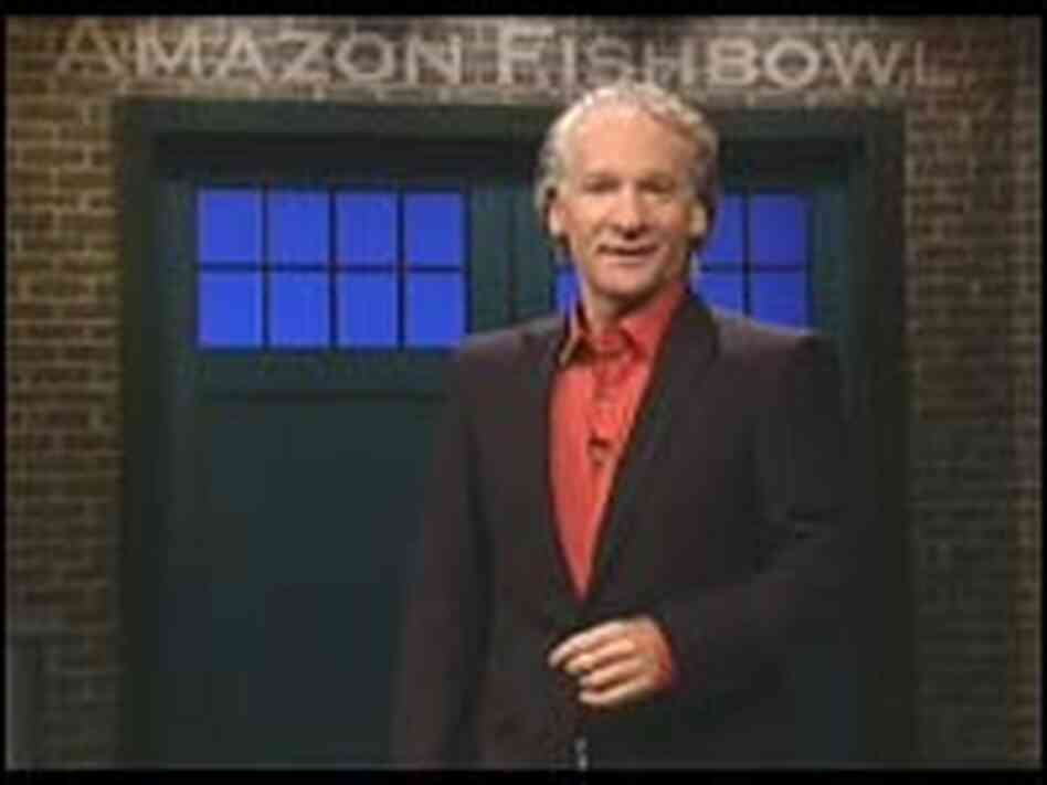 Comedian Bill Maher is the host of 'Amazon Fishbowl.'