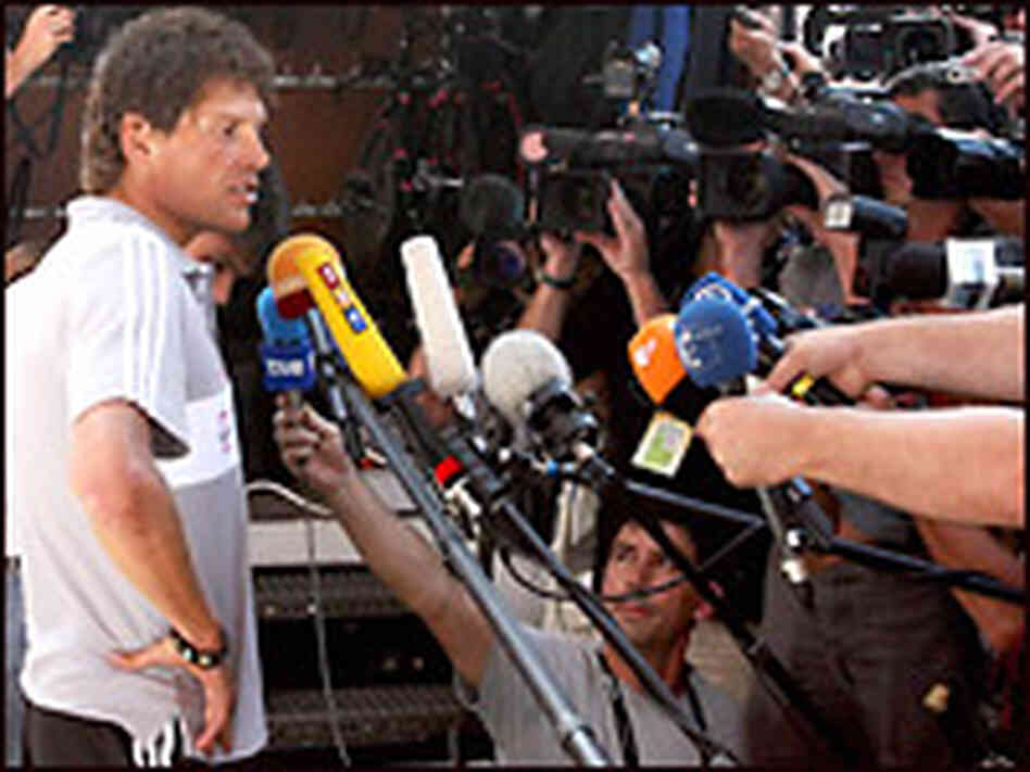 Germany's Jan Ullrich. Credit: FRANCK FIFE/AFP/Getty Images.