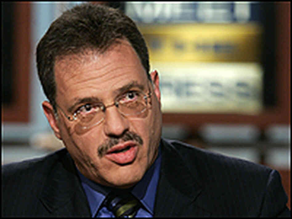 Larry Diamond on NBC's 'Meet the Press' in August 2005.
