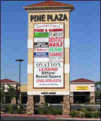 Sen. Harry Reid and a Las Vegas partner bought the land where this shopping mall now stands.