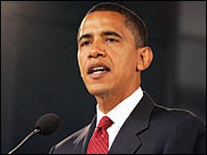 Democratic presidential candidate Senator Barack Obama/Getty.