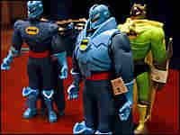 Mattel Inc., is recalling 9 million toys, including these Batman action figure sets.