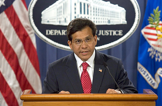 attorney general alberto gonzales controversy Senate testimony yesterday may have added to the controversy over attorney general alberto gonzales (by charles dharapak -- associated press.