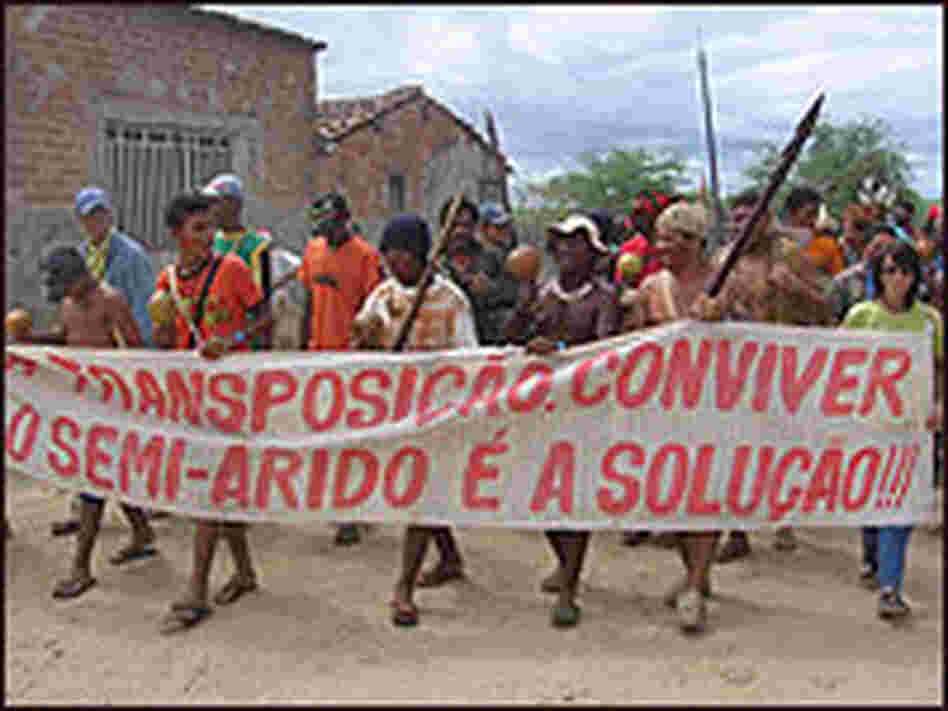 Members of Brazil's Truka tribe