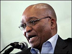 Jacob Zuma, president of the ANC