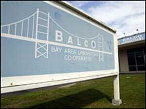 The exterior of the Bay Area Laboratory Co-Operative
