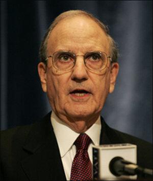 Former Sen. George Mitchell