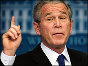 President Bush discusses the National Intelligence Estimate report on Iran.