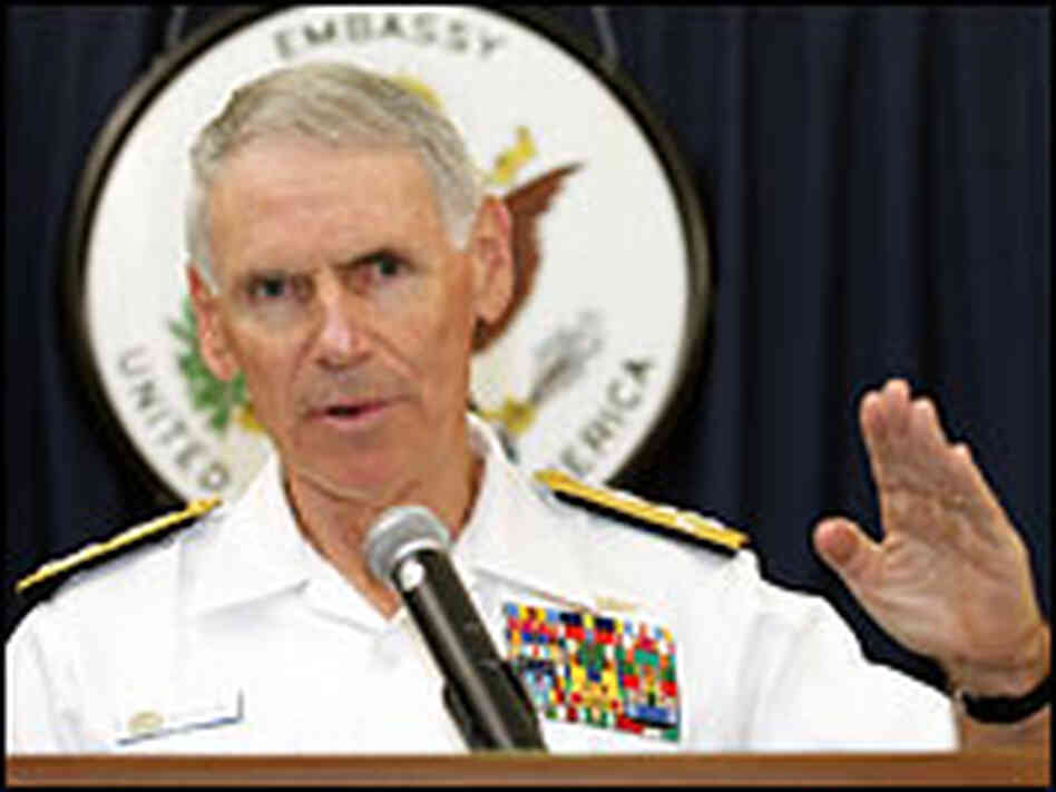 Adm. William J. Fallon