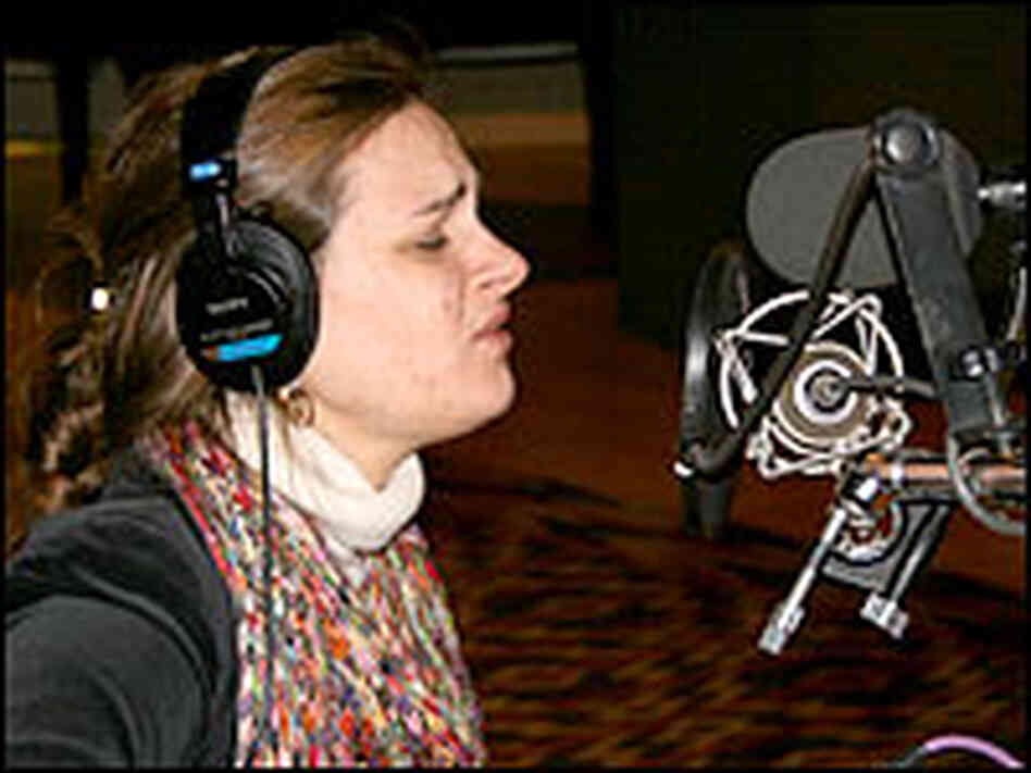 Madeleine Peyroux performs at NPR.