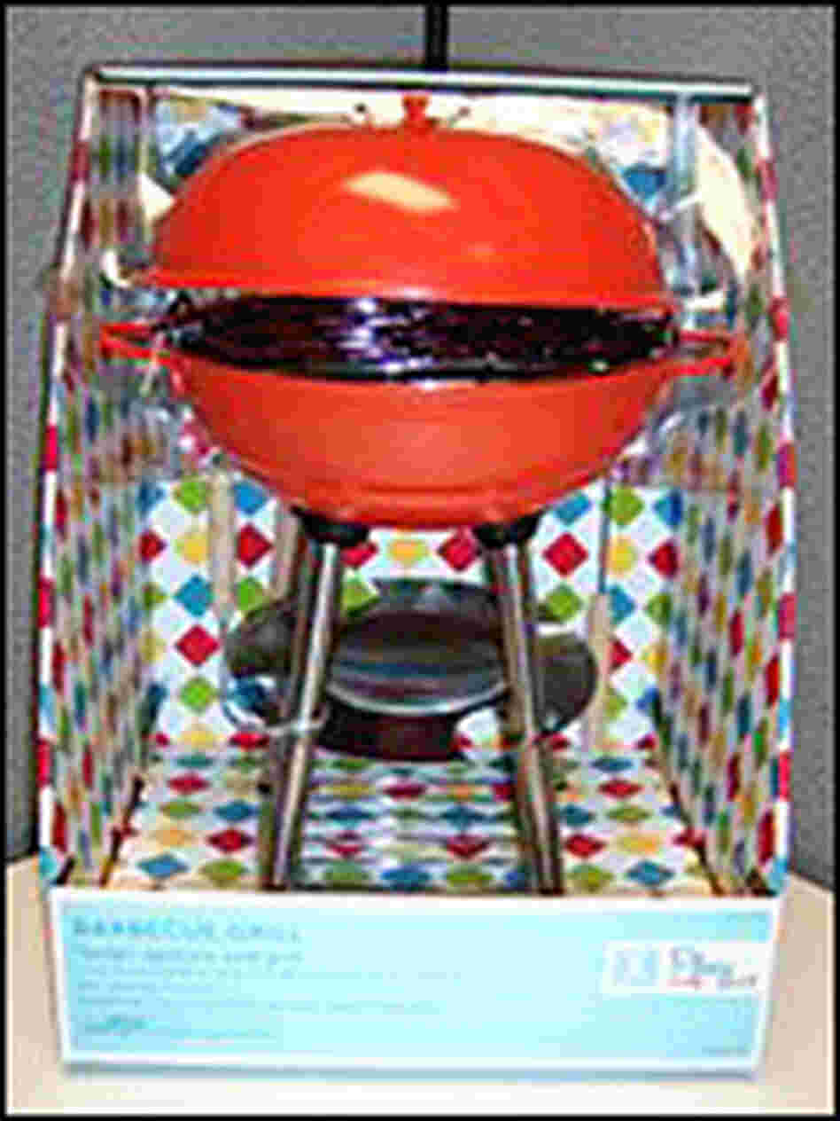 Toy barbeques recalled for safety risk.
