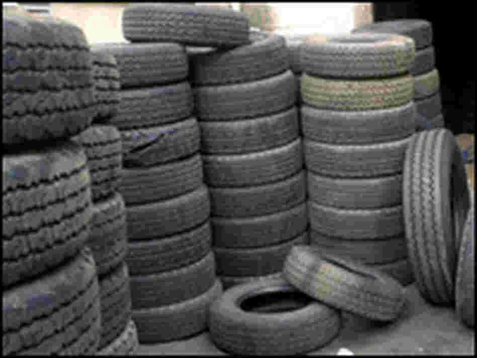 Chinese tires recalled for safety hazard/AP.