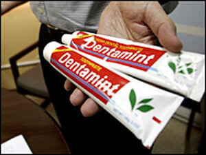 Toothpaste made in China may contain harmful ingredient/Getty.