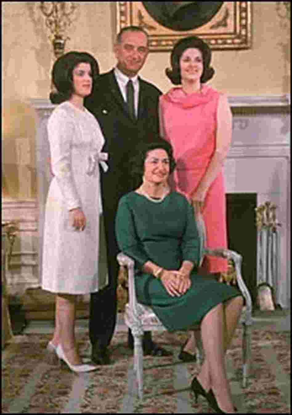 Johnson family photo taken circa 1966