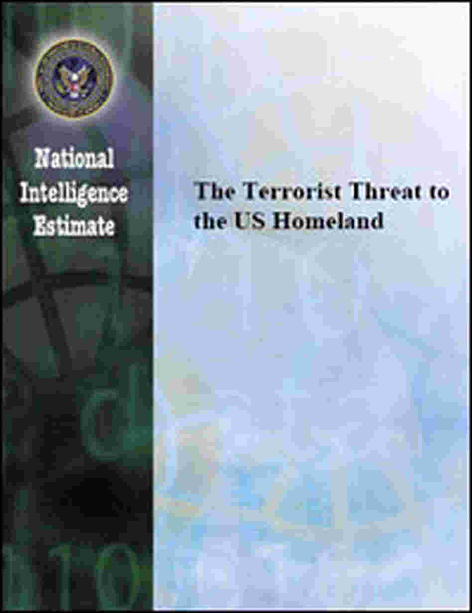 Cover of the National Intelligence Estimate