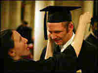 Chris and Katie Bishop at their seminary graduation.