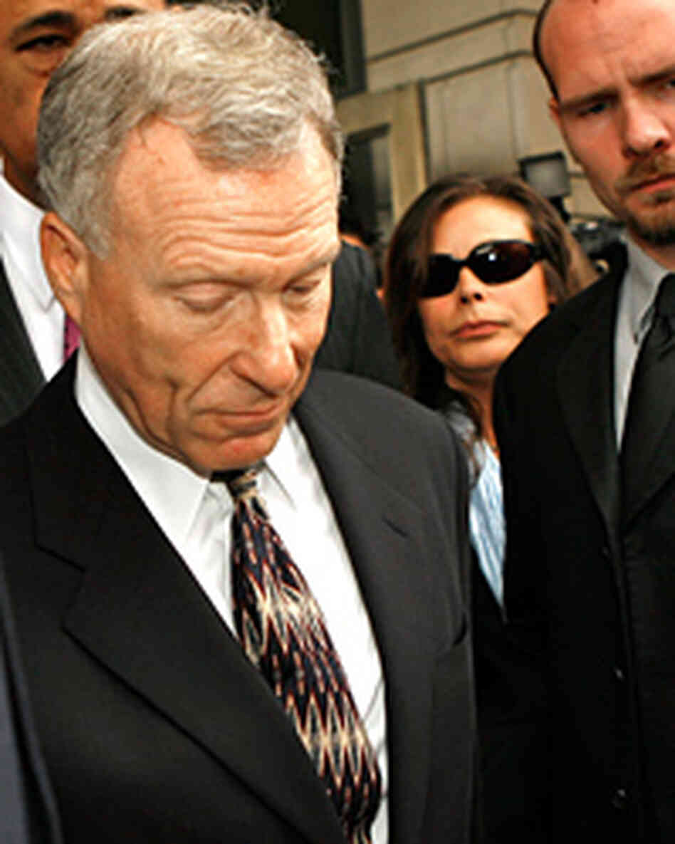 "Former chief of staff to Vice President Dick Cheney, I. Lewis ""Scooter"" Libby and his wife."
