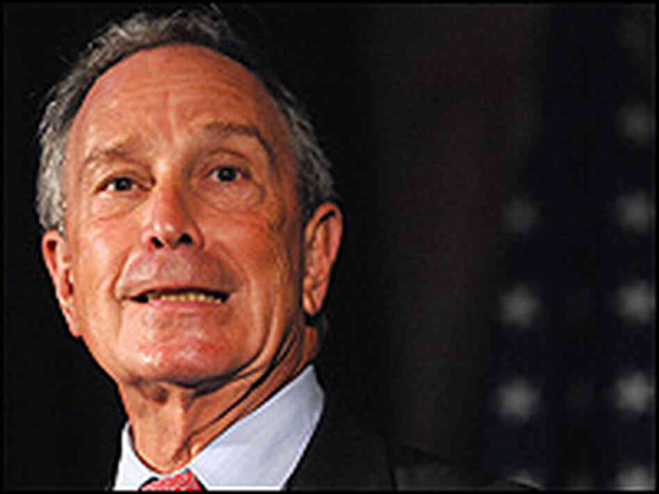 New York City Mayor Michael Bloomberg has left the Republican party.