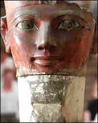 A statue of Queen Hatshepsut at the Egyptian Museum/AFP/Getty Images