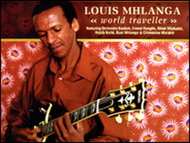 Zimbabwean guitarist Louis Mhlanga works with a band that is based in South Africa.