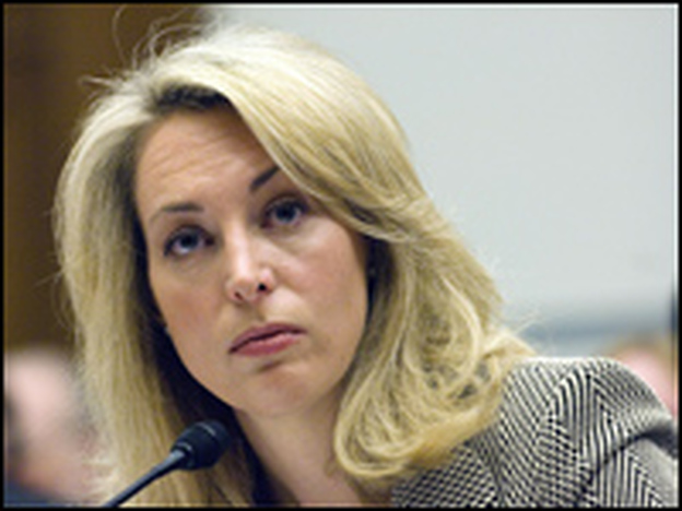 Former CIA agent Valerie Plame Wilson testifies about the outing of her name while she worked as a covert agent for the CIA in 2003.