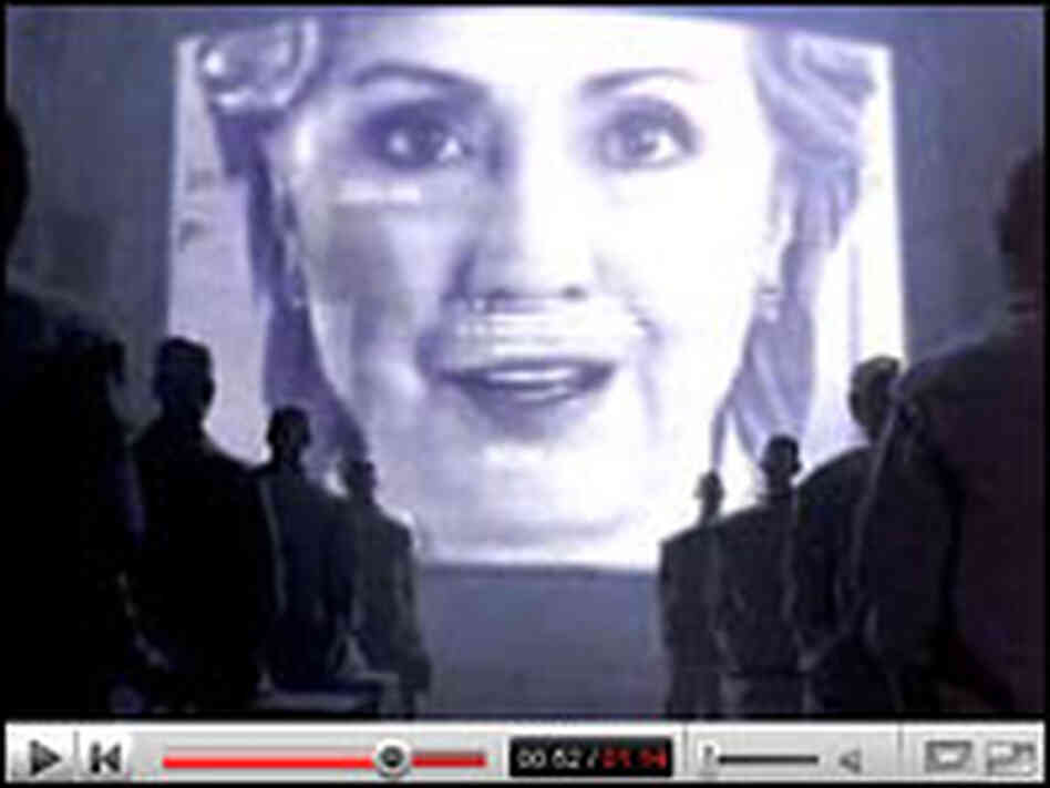 Hillary Clinton '1984' video