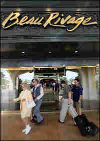 The Beau Rivage casino reopens in 2006. Credit: Justin Sullivan/Getty Images.