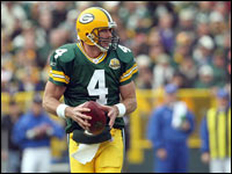 Brett Favre and the Green Bay Packers will pay a visit to the Detroit Lions on Thanksgiving Day.