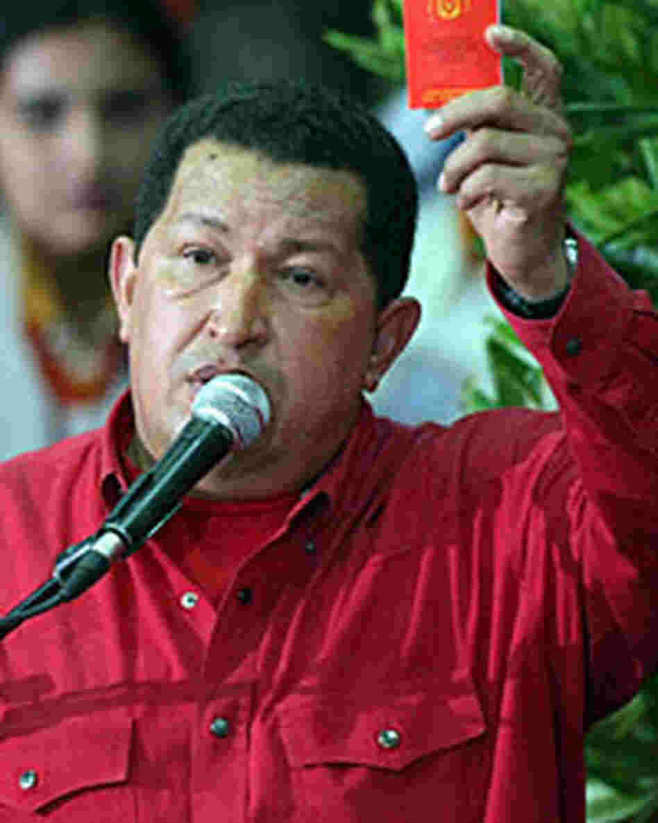 Venezuelan President Hugo Chavez has extended his family's influence in his home state.