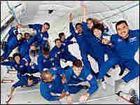 NASA's 2004 class of astronaut candidates.