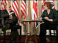Republican presidential candidate Rudolph Giuliani visited England this week.