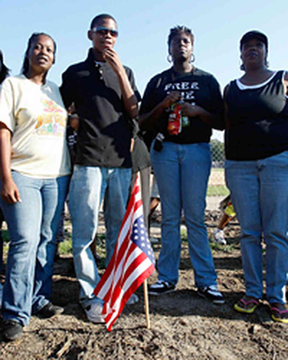 Louisiana town black teens case