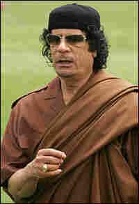 Gadhafi in 2008