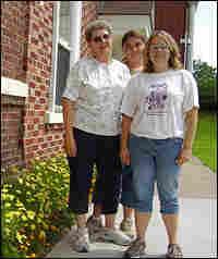 Jane Bashaw, Katie Cariffe and Lee Ann Pierce work in Elizabethtown, N.Y.,