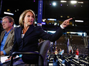 CBS news anchor Katie Couric