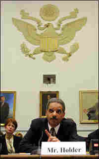 Eric Holder testifies before the House Government Reform Committee