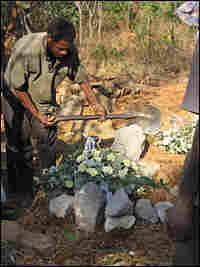 Tendai Roki's grave