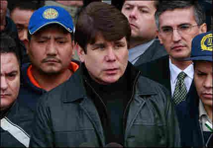 Illinois Gov. Rod Blagojevich.