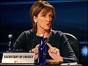 Carol Browner at a 2007 conference.