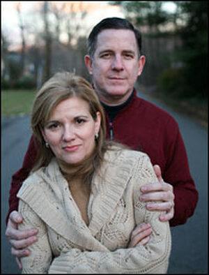 Susan Gilmore and her husband Dan Gilmore.