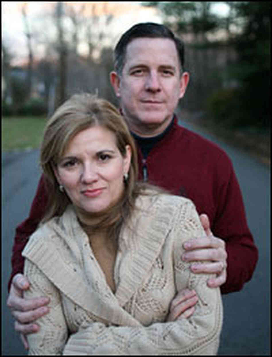 Susan Gilmore and her husband Dan Gilmore.