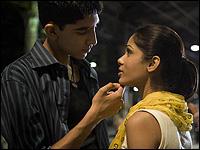 Dev Patel and Freida Pinto in 'Slumdog Millionaire.'