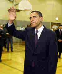 Obama casts Super Tuesday vote