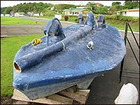 One of three submersibles