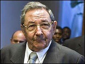 Cuban acting president Raul Castro