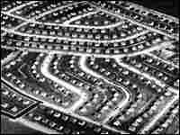 aerial file photo shows a portion of Levittown, N.Y., in 1948