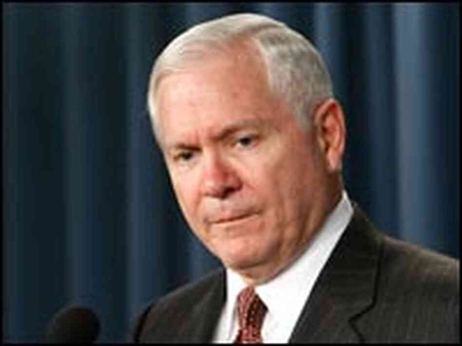 Defense Secretary Robert Gates